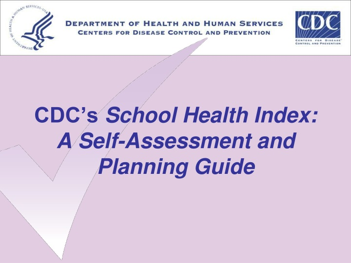 cdc s school health index a self assessment and planning guide n.
