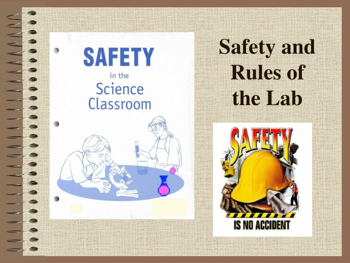 safety and rules of the lab n.