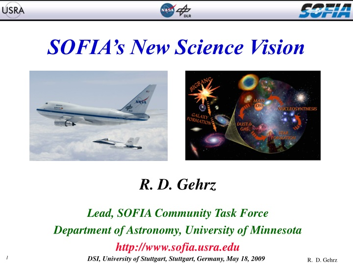 sofia s new science vision n.