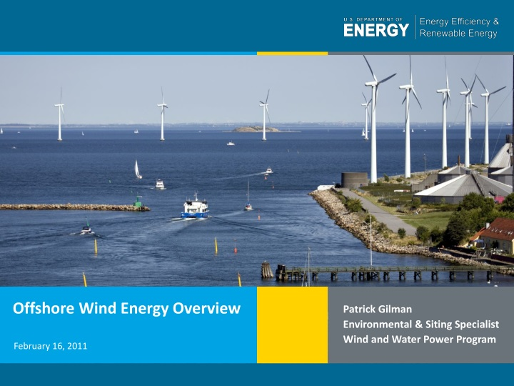 offshore wind energy overview n.