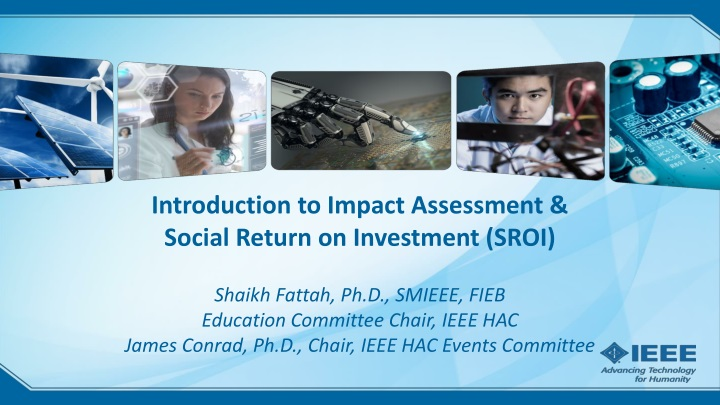 introduction to impact assessment social return n.