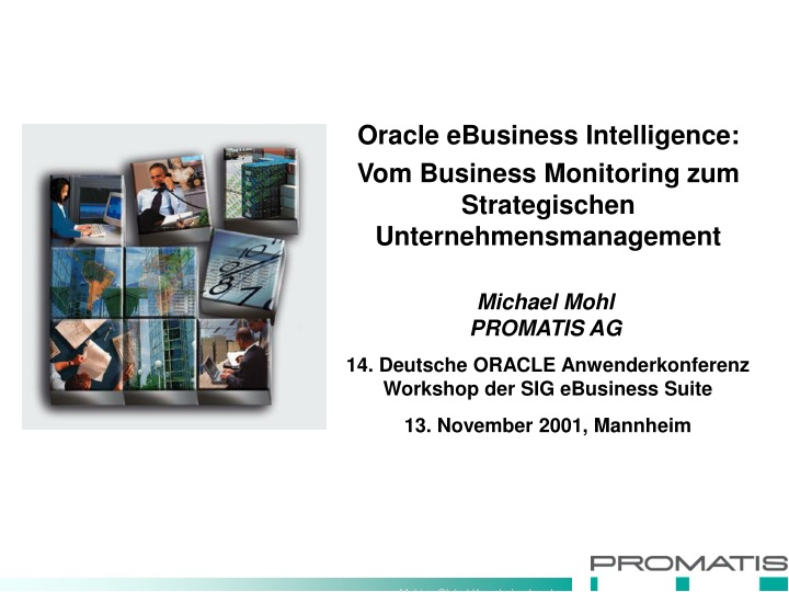 oracle ebusiness intelligence vom business n.