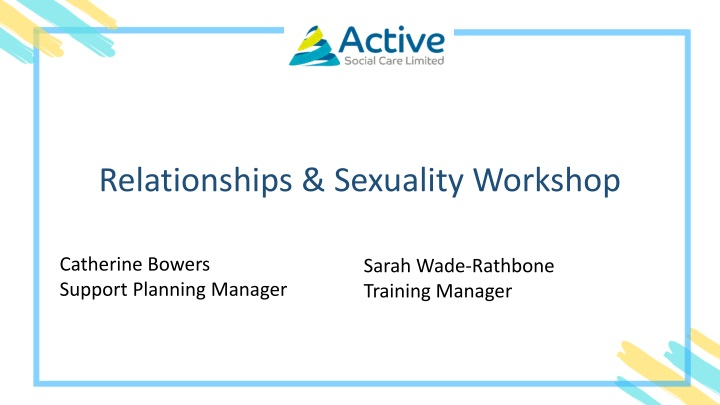 relationships sexuality workshop n.