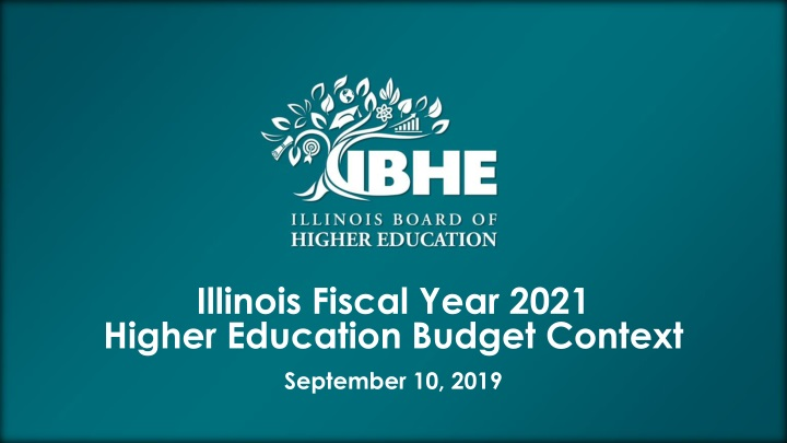 illinois fiscal year 2021 higher education budget n.