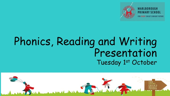 phonics reading and writing presentation tuesday 1 st october n.