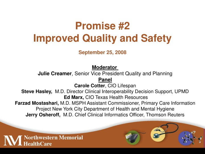 promise 2 improved quality and safety n.