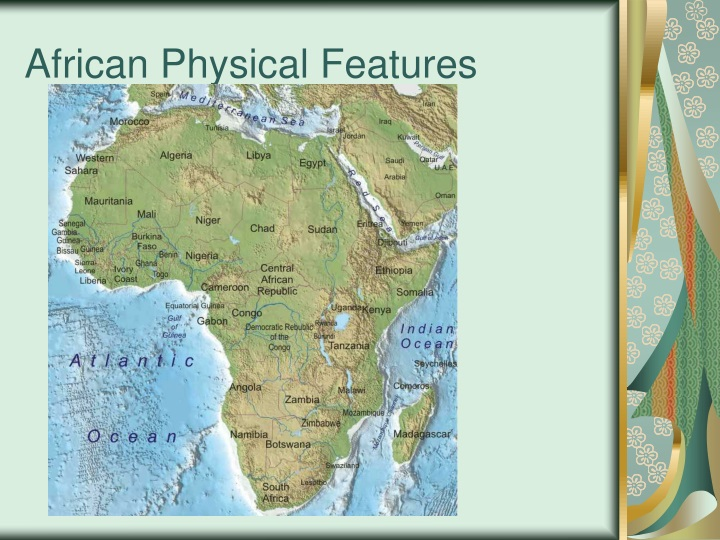 african physical features n.