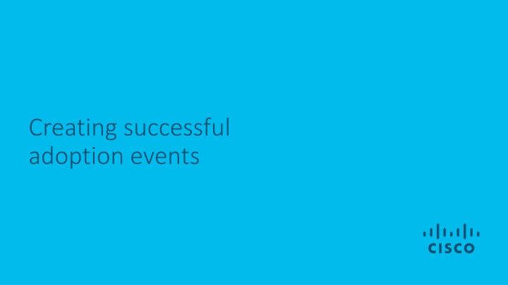 creating successful adoption events n.