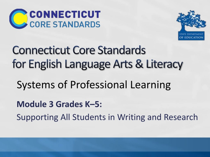 connecticut core standards for english language arts literacy n.
