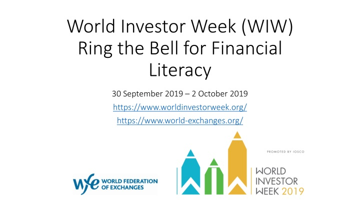 world investor week wiw ring the bell for financial literacy n.