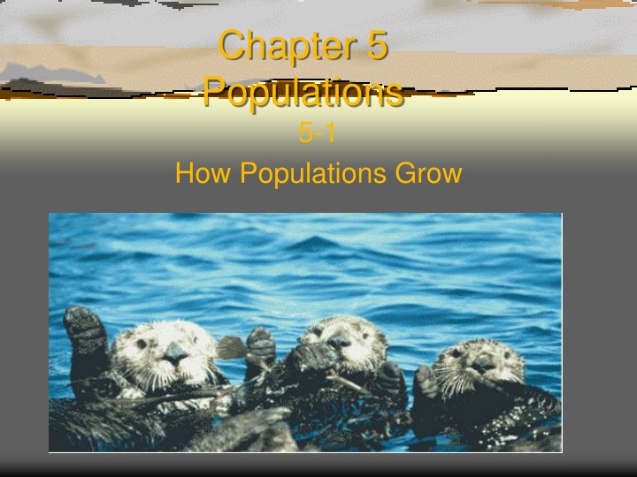 chapter 5 populations n.