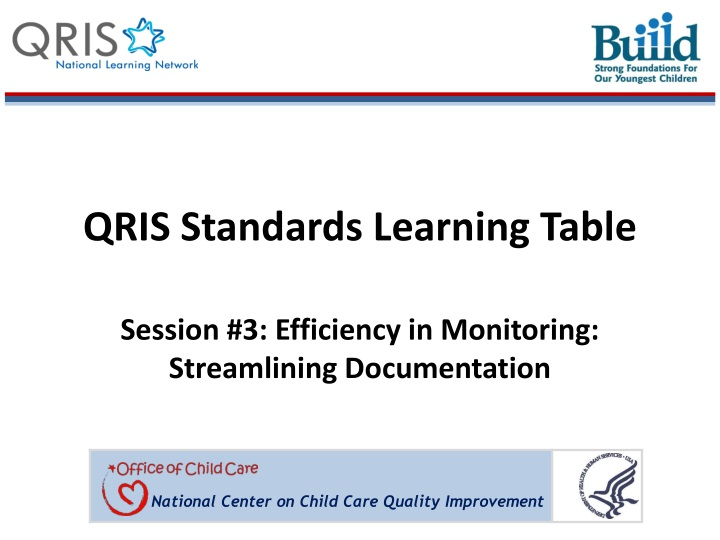 qris standards learning table n.