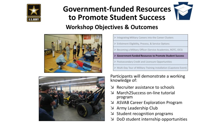 government funded resources to promote student success n.