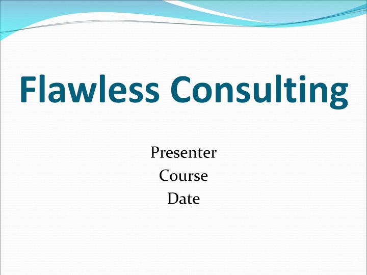 flawless consulting n.