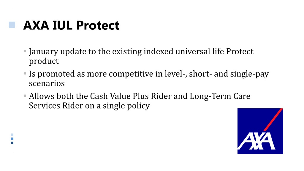 PPT - Annuity and Life Insurance Product Update PowerPoint ...