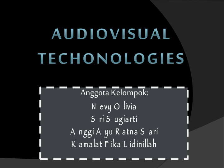 Contoh Media Komunikasi Audio Visual - Eva