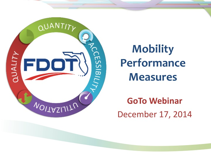 mobility performance measures n.