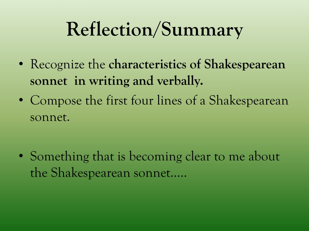 PPT - Iambic Pentameter and Sonnets PowerPoint ...