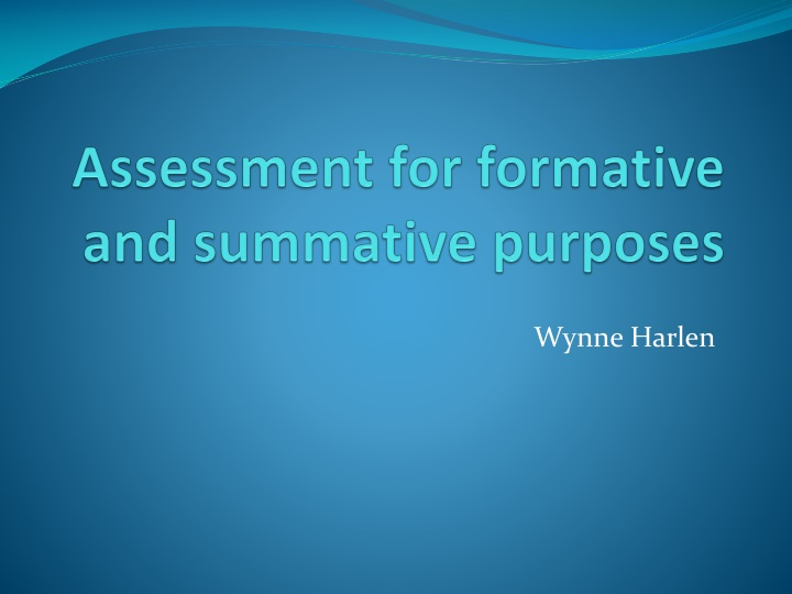 assessment for formative and summative purposes n.