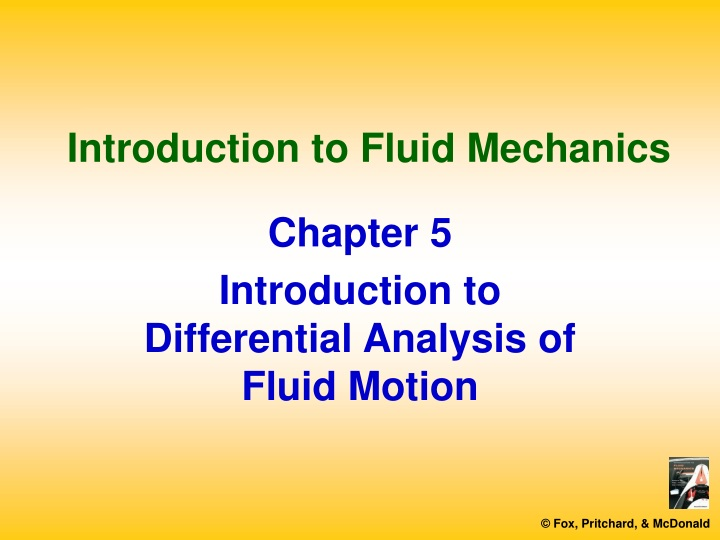 introduction to fluid mechanics n.