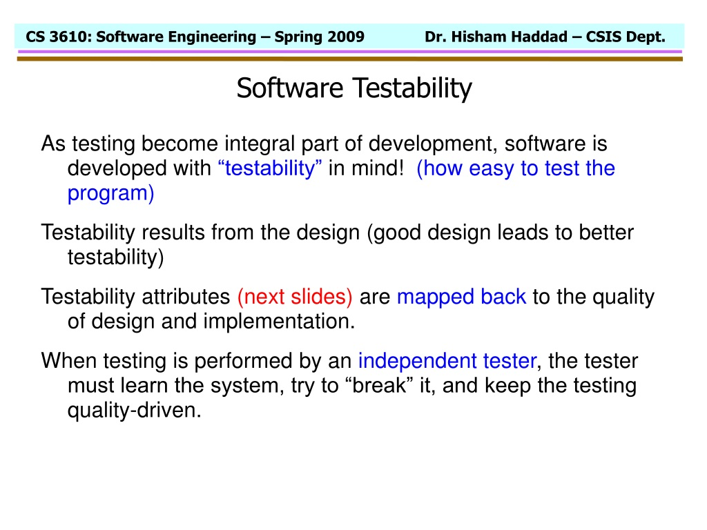 Ppt Chapter 14 Software Testing Techniques Highlights Of Software Testing Techniques Powerpoint Presentation Id 398093
