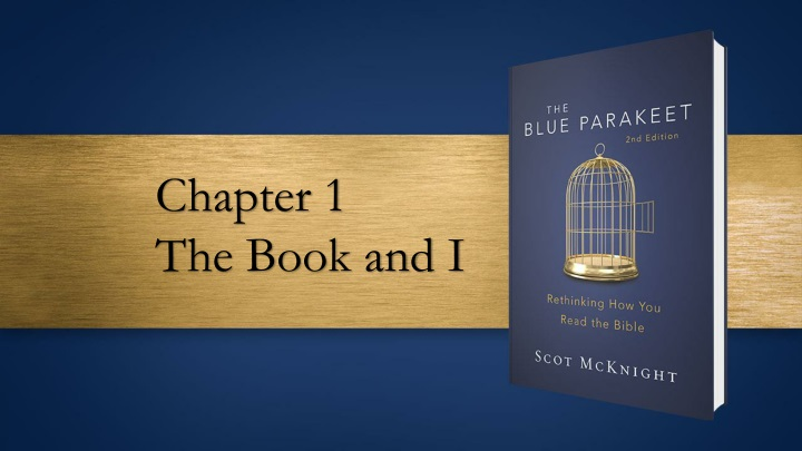 chapter 1 the book and i n.