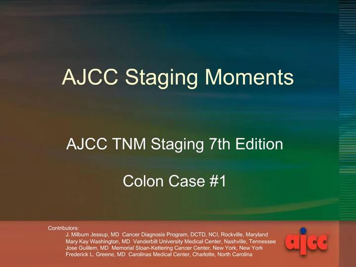Ppt Ajcc Staging Moments Powerpoint Presentation Free Download Id 406783