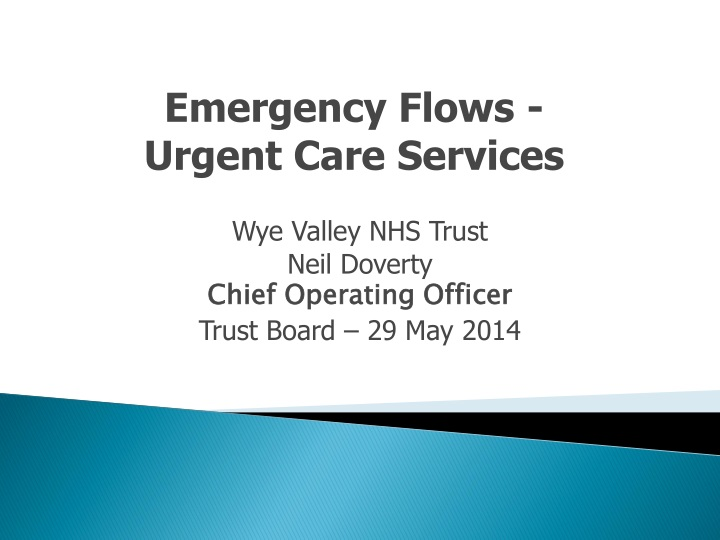 emergency flows urgent care services n.