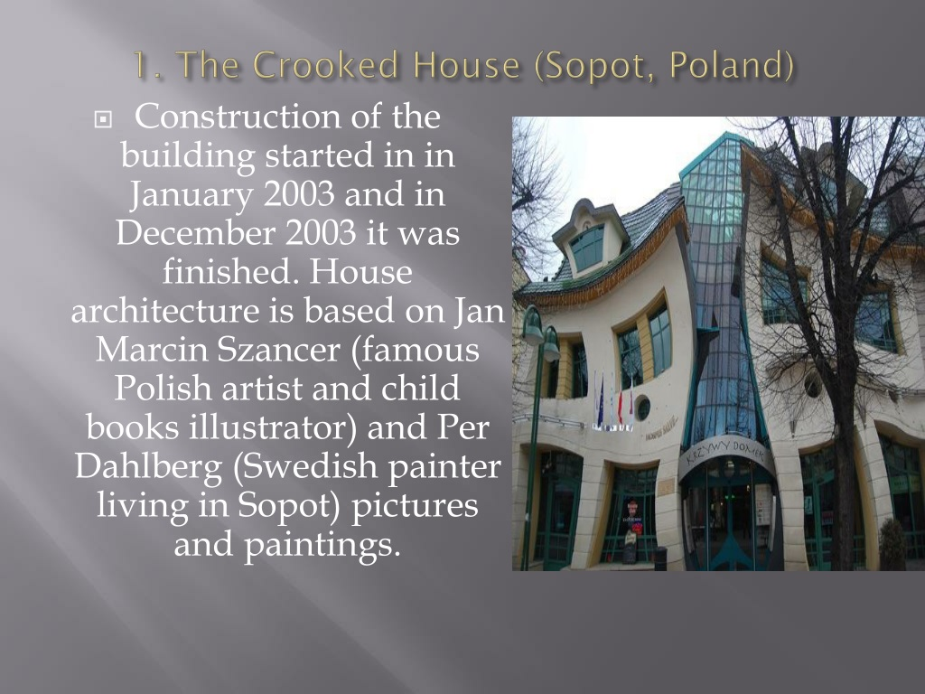 Ppt Strange Buildings Of The World Powerpoint Presentation Free Download Id 420310