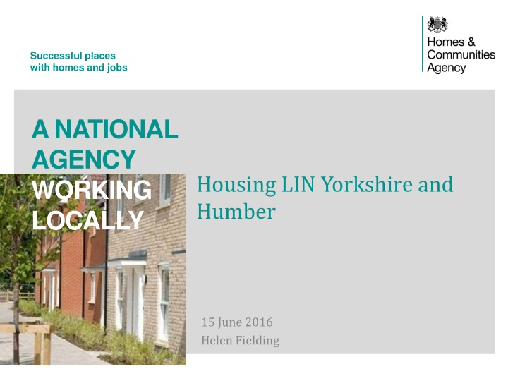 housing lin yorkshire and humber n.