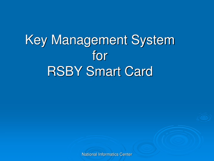 key management system for rsby smart card n.
