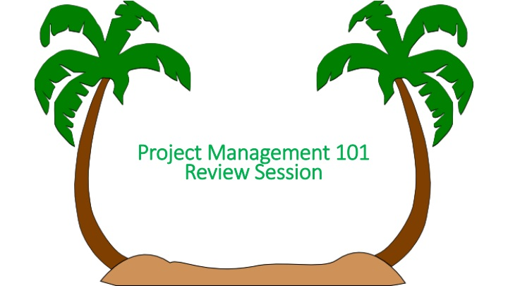 project management 101 review session n.