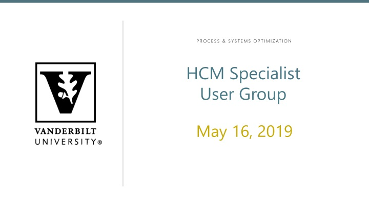 hcm specialist user group n.