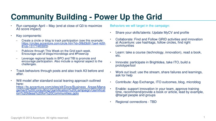 community building power up the grid n.