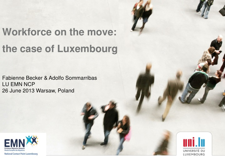 workforce on the move the c ase of luxembourg n.