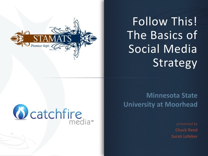 follow this the basics of social media strategy n.