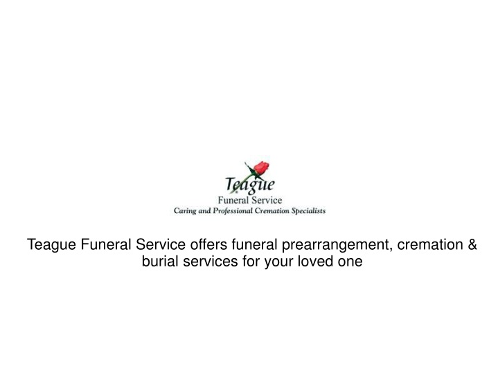 teague funeral service offers funeral n.