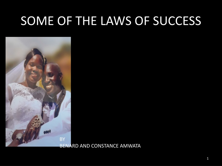 some of the laws of success n.