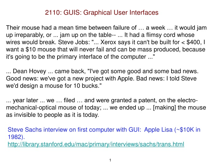 2110 guis graphical user interfaces n.