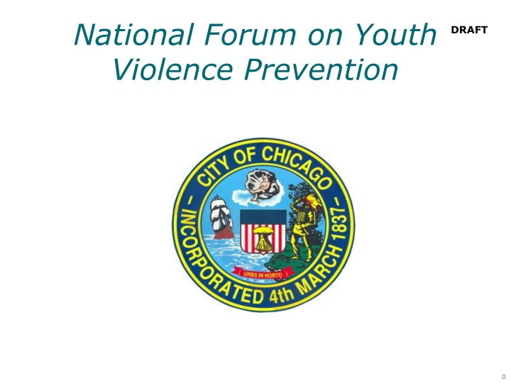 national forum on youth violence prevention n.