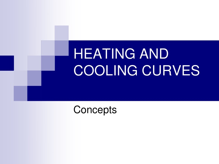 heating and cooling curves n.