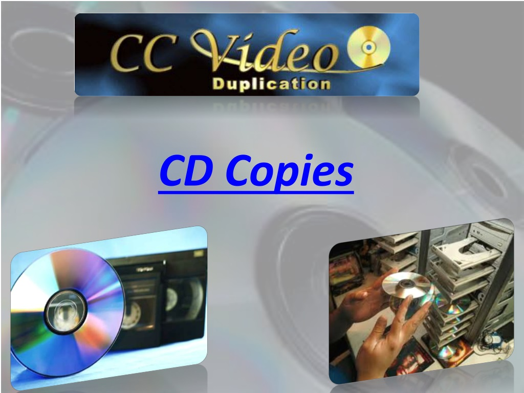 Ppt Cd Copies Powerpoint Presentation Free Download Id 478209