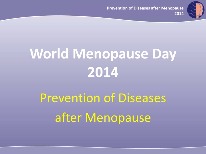 prevention of diseases after menopause 2014 n.