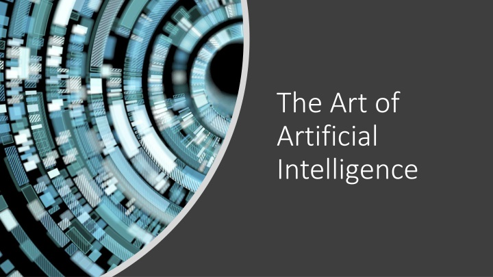 the art of artificial intelligence n.