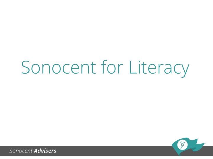 sonocent for literacy n.