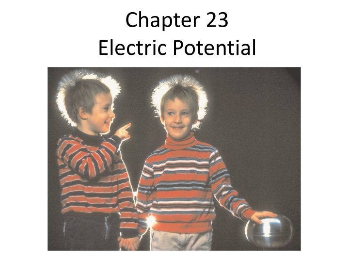 chapter 23 electric potential n.