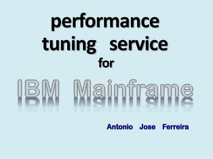 performance tuning service for n.