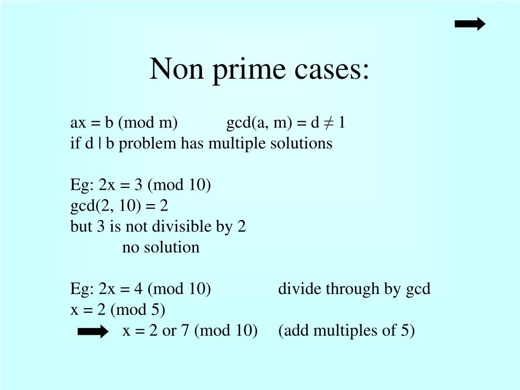 PPT - Modular (Remainder) Arithmetic PowerPoint Presentation