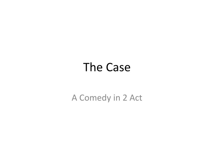 the case n.