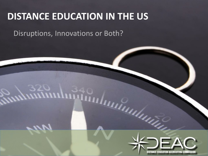 distance education in the us n.
